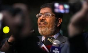 Il presidente egiziano mohamed morsi