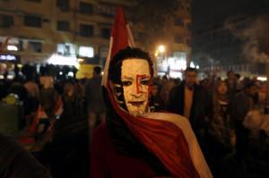 manifestante egiziano