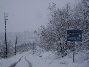 libano neve