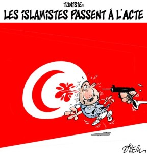 Assassinio in Tunisia...... di Ali Dilem