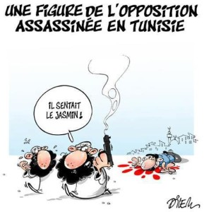 Colpita l'opposizione tunisina ....... di Ali Dilem