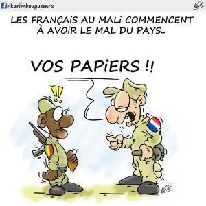 Francesi in Mali ...... di Karim Bouguemra