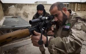 combattente siriano