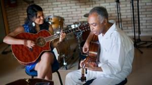 Gilberto Gil e Dina El-Wadidi