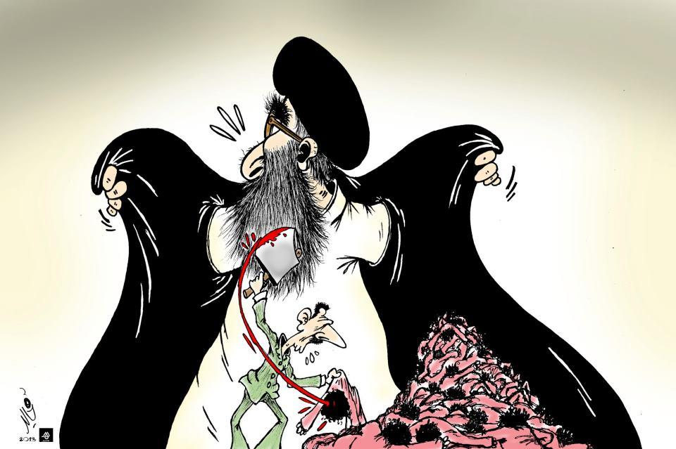 Fatwa per nascondere i crimini di Asad                            Khalid Gueddar