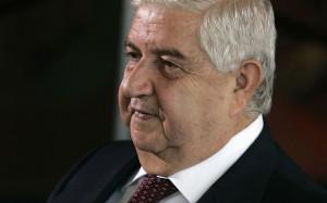 ministro esteri siriano muallem