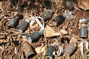 munizioni a grappolo