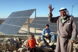 energia solare palestina