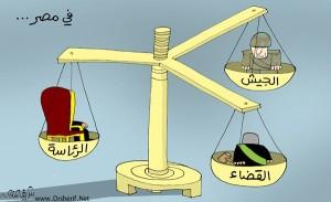 l'esercito, la presidenza, la magistratura