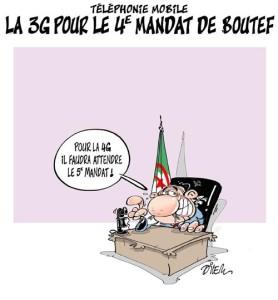 Quarto mandato di Bouteflika... di Ali Dilem